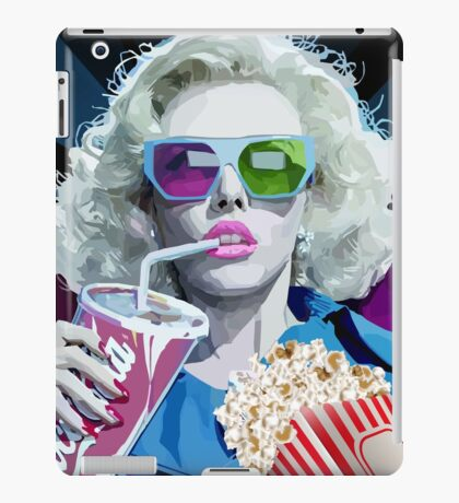 Watching Movie iPad Case/Skin