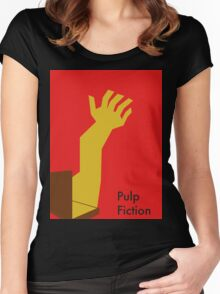 Pulp Fiction Soul Case Women's Fitted Scoop T-Shirt