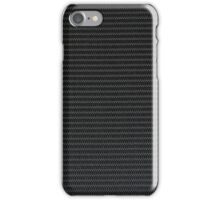 Black fabric texture  iPhone Case/Skin