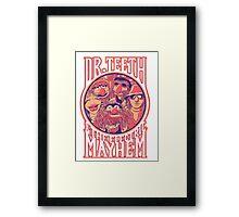 Electric Mayhem Framed Print