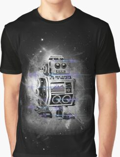 flying Robot Graphic T-Shirt