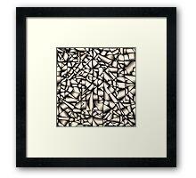 Metallic ribbon Framed Print