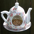 Birds Teapot by AnnDixon