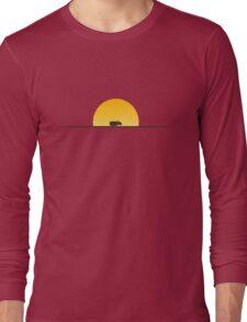 Star Wars Episode 7 Jakku Sunset Long Sleeve T-Shirt
