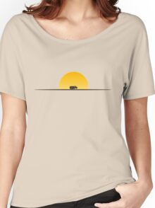 Star Wars Episode 7 Jakku Sunset Women's Relaxed Fit T-Shirt