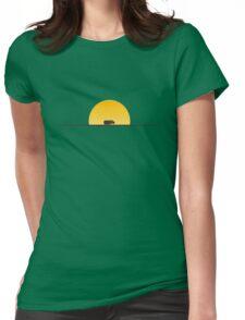 Star Wars Episode 7 Jakku Sunset Womens Fitted T-Shirt