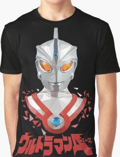 LOW POLYGON PORTRAIT - ULTRAMAN ACE Graphic T-Shirt
