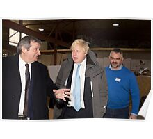 Boris Johnson  & Doug Taylor Poster