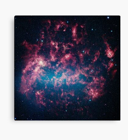 The Large Magellanic Cloud, a satellite galaxy to our own Milky Way galaxy. Canvas Print