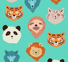 animal pattern by motymotymoty