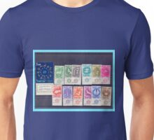 Full set of Israeli Zodiac stamps series from 1961 Unisex T-Shirt