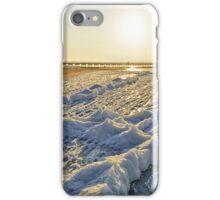 Winter in resort iPhone Case/Skin