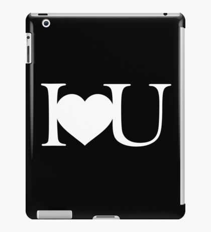 I love you V.1.2 iPad Case/Skin