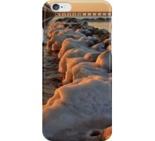 Stones in winter iPhone Case/Skin
