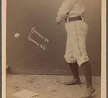 L.F. O'Neil Baseball Card by reddkaiman