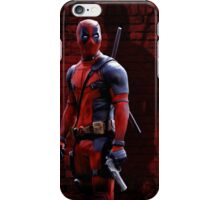 Deadpool - 'Why the Red Suit?' iPhone Case/Skin