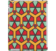 Honeycombs triangles and other shapes pattern iPad Case/Skin
