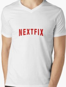 New NEXTFIX Mens V-Neck T-Shirt