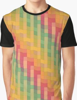 zigzag squares in Sketch3 Graphic T-Shirt
