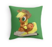 MLP 3D - Curled Up Throw Pillow