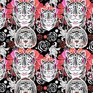 graphic pattern Tigers by Tanor
