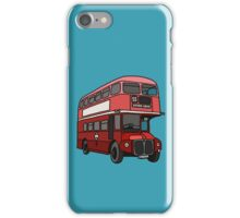 London Bus iPhone Case/Skin