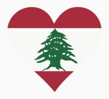 A heart for Lebanon by artpolitic