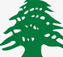 A heart for Lebanon Sticker