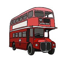 London Bus by Emily Cook