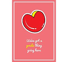 Cheesy Hearts - Gouda Photographic Print
