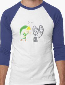 Don't, Link!  Men's Baseball ¾ T-Shirt