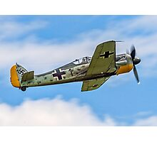 Flug Werk nachbau Fw 190A-8N F-AZZJ Photographic Print