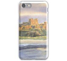 Bamburgh Castle, Northumberland iPhone Case/Skin