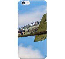 Flug Werk nachbau Fw 190A-8N F-AZZJ iPhone Case/Skin