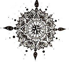 Mandala #1 by Emkaey