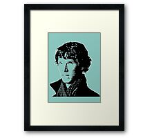 Sherlock Shadow Framed Print