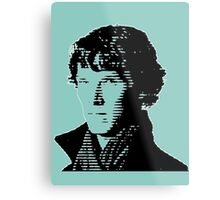 Sherlock Shadow Metal Print
