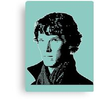 Sherlock Shadow Canvas Print