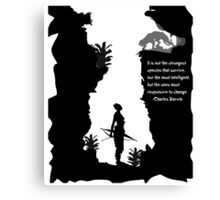 Strong Creatures Canvas Print