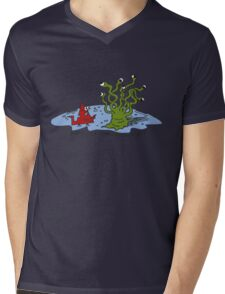 What are you looking at? Mens V-Neck T-Shirt