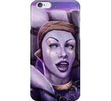 Alien Thief Girl iPhone Case/Skin