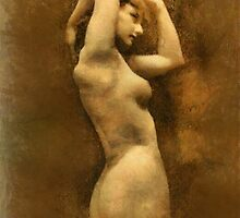Vintage Nude by Mary Bassett by esotericaart