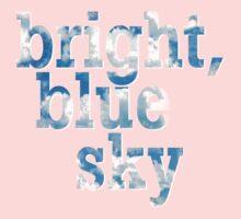 Bright, blue sky Baby Tee