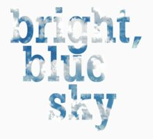 Bright, blue sky One Piece - Short Sleeve