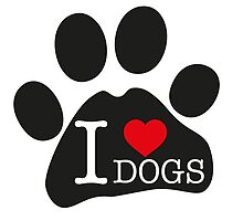 I love dogs by marmota