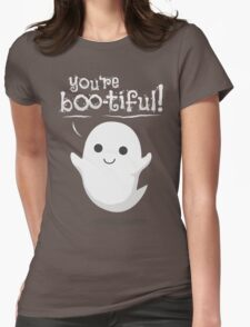 You are bootiful ghost Womens Fitted T-Shirt