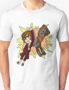 Bilbo vs Wicket.  T-Shirt