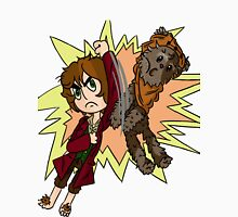 Bilbo vs Wicket.  Unisex T-Shirt