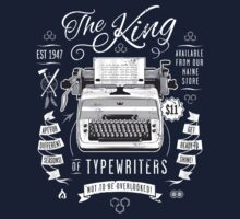 The King of Typewriters One Piece - Long Sleeve