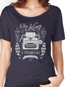 The King of Typewriters Women's Relaxed Fit T-Shirt